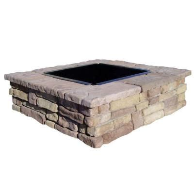 stone fire pit kit 17 best images about stone fire pit on pinterest fire