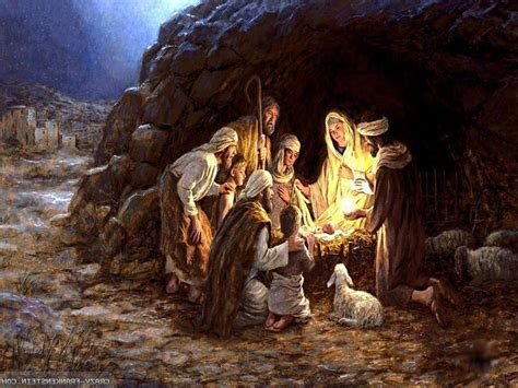 christmas wallpaper jesus born baby jesus wallpapers wallpaper cave