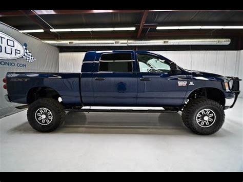 dodge ram  diesel mega cab lifted truck  sale