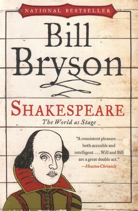 shakespeare the world as stage by bill bryson the scrying orb