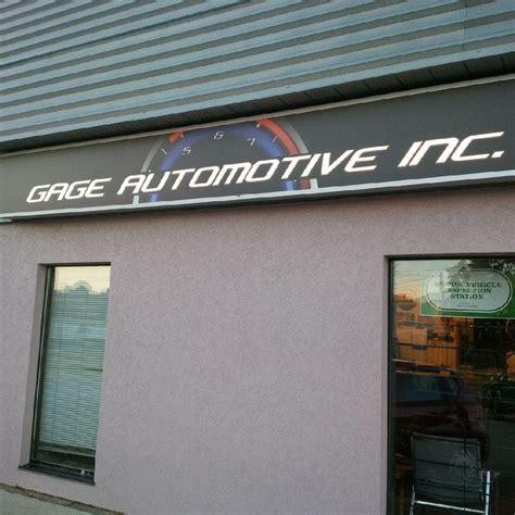 Auto Shop Kitchener by Gage Automotive Auto Repair 330 Gage Avenue Kitchener