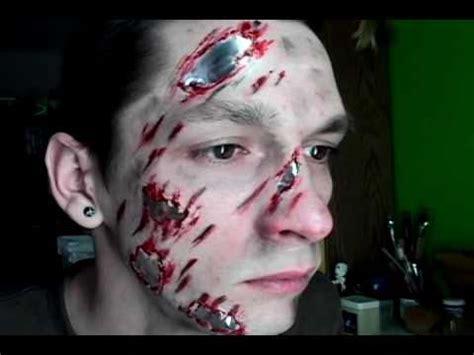 tutorial makeup terminator fx makeup tutorial 03 terminator road rash 3 5 11