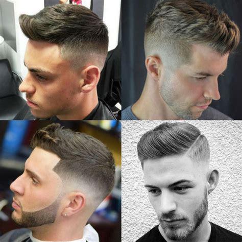 even hair cuts vs textured hair cuts textured modern quiff