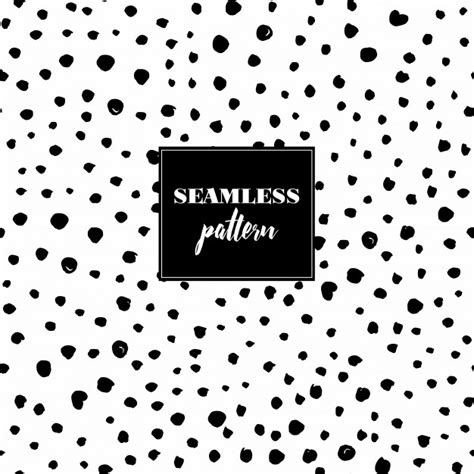 seamless pattern dots seamless pattern with black dots vector free download