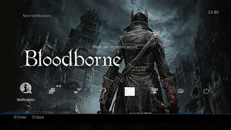 best ps4 themes reddit bloodborne gets a new theme free of cost on the ps4 check