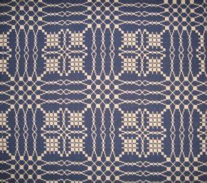 family heirloom weavers coverlets seastar and jewel coverlet by family heirloom weavers