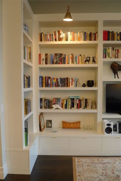 library cabinetry custom bookcase built in shelving
