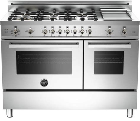 Bertazzoni Cooktop Reviews Bertazzoni Pro486ggasx Stainless 48 Quot Professional Series