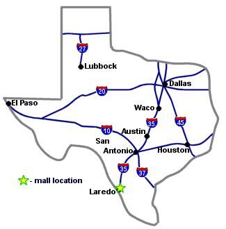 map laredo texas laredo outlet center laredo tx