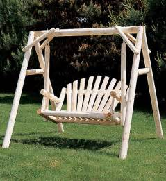 Swing With Cedar Swings And Gliders Hoover Fence Company