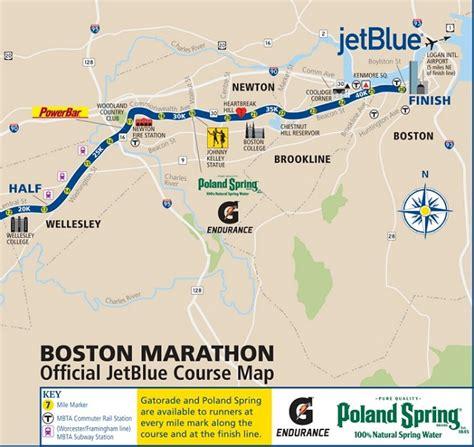 boston marathon route map course maps boston athletic association baa org