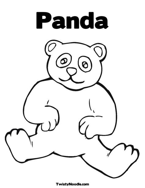 Cute Panda Coloring Pages Coloring Home Panda Colouring Pages