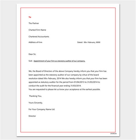 appointment letter word format free appointment letter format word doc best free home