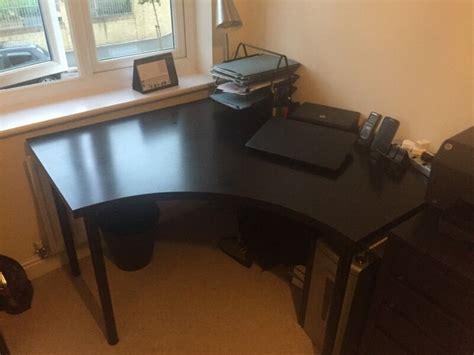 linnmon corner desk ikea linnmon corner office desk in bristol gumtree
