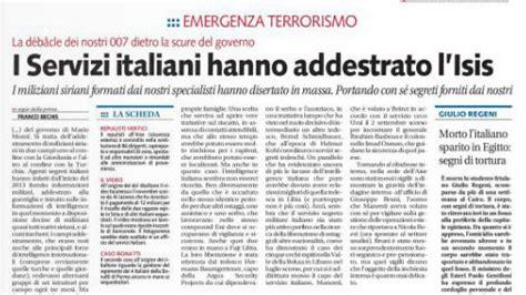 sede servizi segreti italiani addestrato dall intelligence italiana byoblu