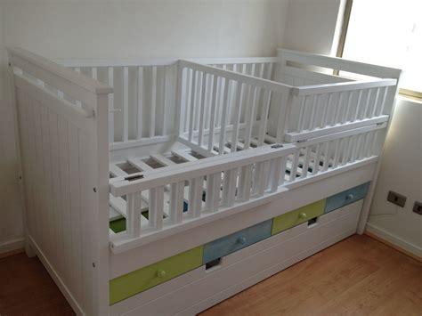cuna para gemelos cuna mellizos o gemelos habitaciones ni 241 os pinterest