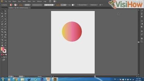 adobe illustrator cs6 gradient text create gradient in adobe illustrator cs6 visihow