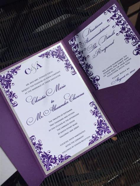 Purple Wedding Invitation top 25 best purple wedding invitations ideas on