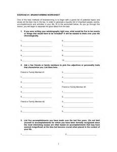 Brainstorming Sheets For Essays by Brainstorming Worksheets For Essays