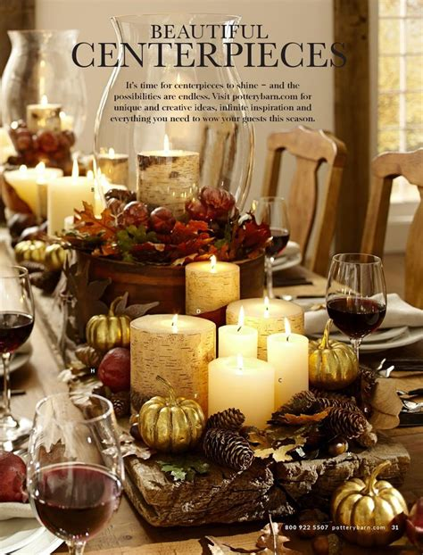 easy fall decor ideas pottery barn 362 best images about fall tablescapes on pinterest