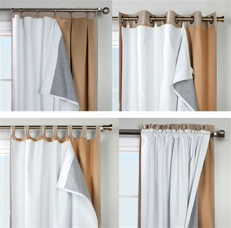 insulated curtains diy thermalogic ultimate blackout insulated curtain liner
