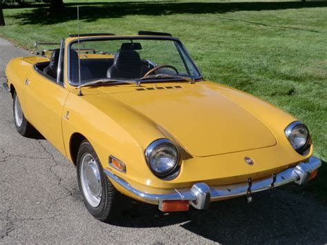 1970 fiat 850 spider classic italian cars for sale