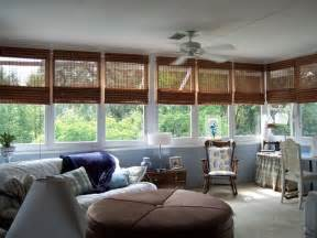 Jcpenney Dining Room sunroom with a lot of windows window treatments