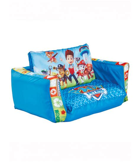 paw patrol sofa bed paw patrol flip out sofa bedroom furniture