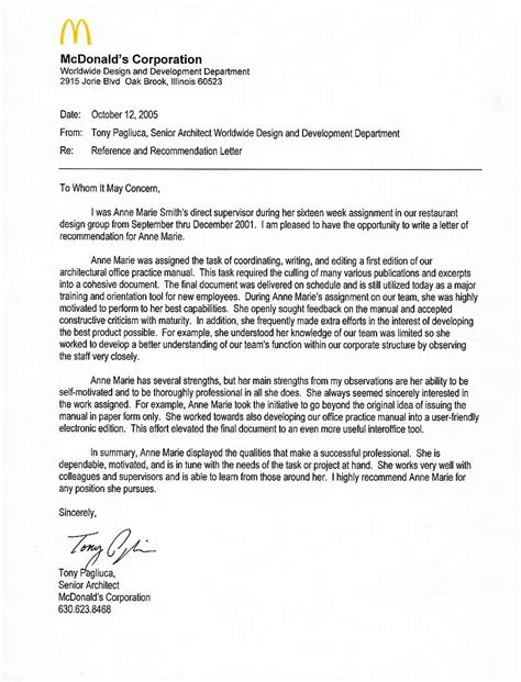 letter of recommendation coordinator sle letter of