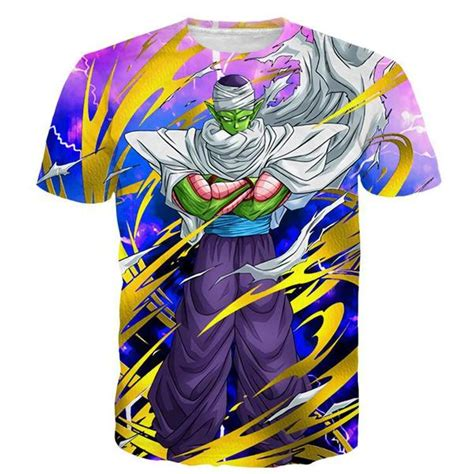 Hoodie Misprints Bojack Fightmerch angry piccolo waiting fight aura yellow fashion t shirt saiyan stuff