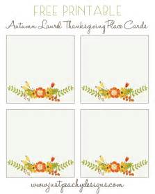 place card printing template 6 best images of free printable thanksgiving placecards