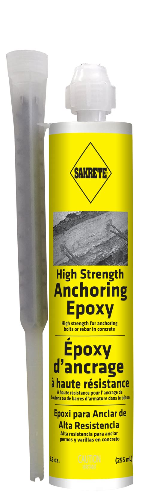sakrete high strength anchoring epoxy