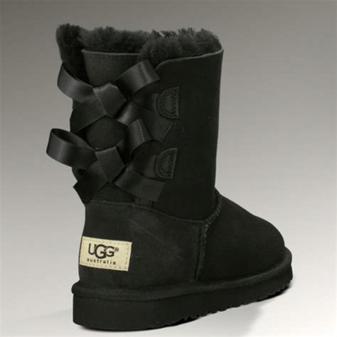 The Not So The Bad And The Uggs Styledash Picks The Ugliest Shoes by Bow Back Uggs In Black Or Pink Shoes