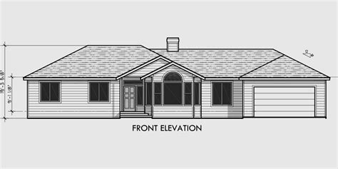 1 level house plans single level house plans 3 bedroom 2 bath house plans