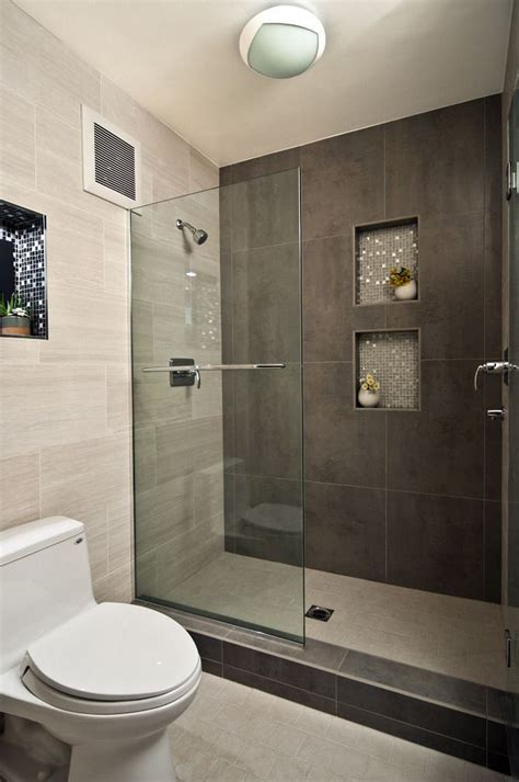modern bathroom shower ideas modern bathroom design ideas with walk in shower small