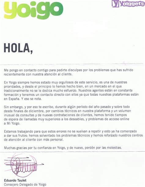 ejemplo carta de disculpa eduardo taulet se disculpa por los problemas en atenci 243 n
