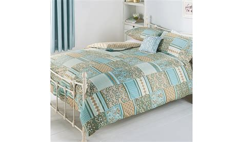 george home gold harmony patchwork duvet bedding