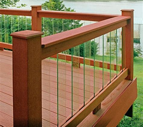 decking banister deckorators 32 quot clear view glass deck baluster