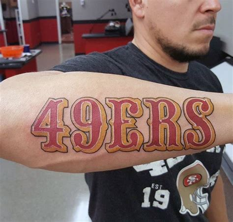 tattoo lettering san francisco 49ers tattoos tattoo collections