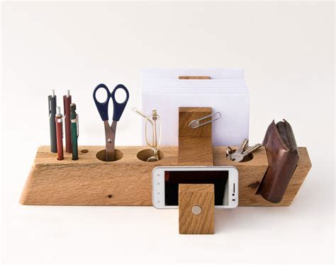 stylish desk organizers deck out your desk with these 6 stylish wood desktop