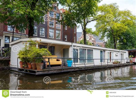sex in house boat traditional house boat on the canals of amsterdam