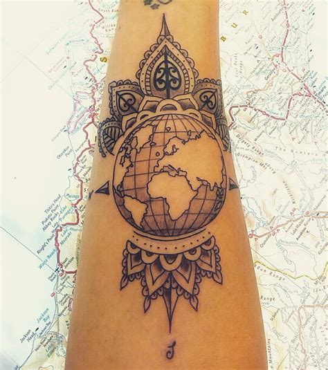 travel tattoo designs 50 inspiring travel tattoos for travel addicts nomad