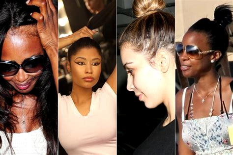 the side effects of weave celebrities without their weaves celebrities with