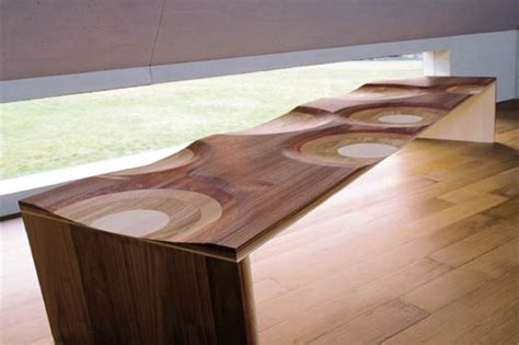 Unique Wood Dining Room Tables Wood Dining Room Furniture With Unique Finish By Toyo Ito Digsdigs