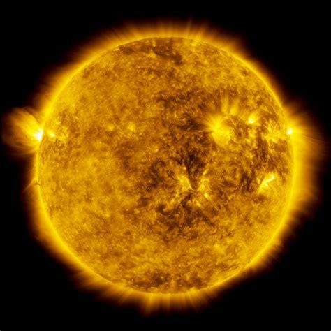 solar eclipse magnificent partial solar eclipse in space captured