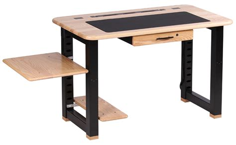 small desk with shelves small desk with shelves altra cherry and black small