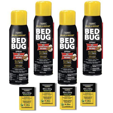 harris  oz egg kill  resistant bed bug spray  pack blkbba pk  home depot