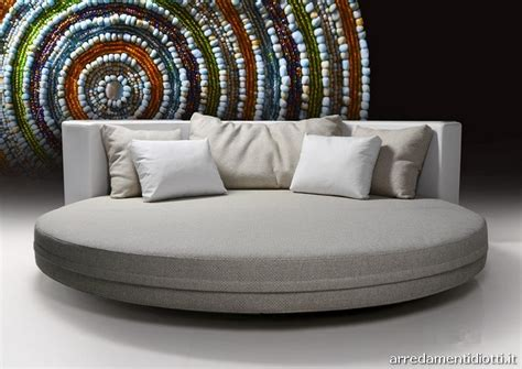 divani tondi divano letto tondo il miglior design di ispirazione e