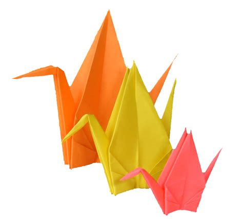 Origami Peace Cranes - the chronicles of and peace symbols