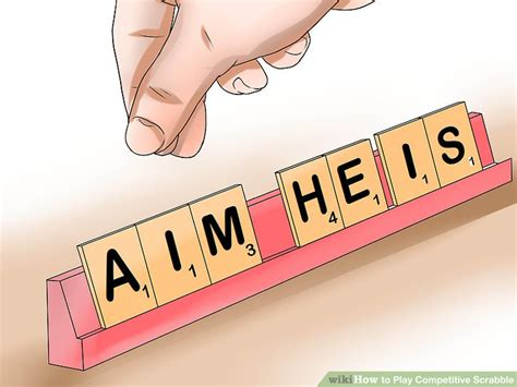scrabble dictionary jo 3 ways to play competitive scrabble wikihow